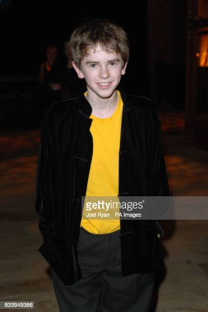 Freddie Highmore at the Golden Compass World Premiere afterparty at the Tobacco Docks in London