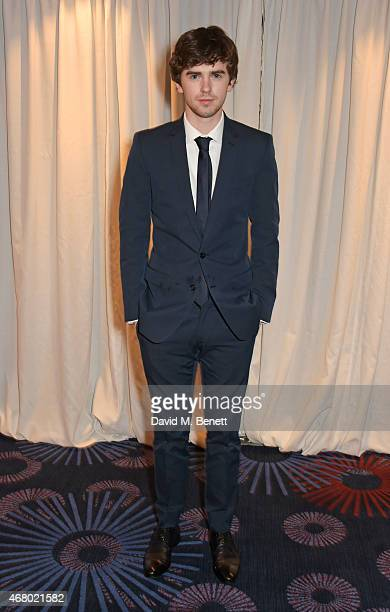 Freddie Highmore attends the Jameson Empire Awards 2015 at Grosvenor House on March 29 2015 in London England