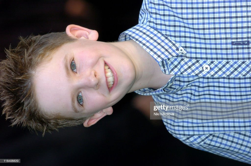 Freddie Highmore during 'Charlie and the Chocolate Factory' London Premiere at Odeon Leicester Square in London United Kingdom