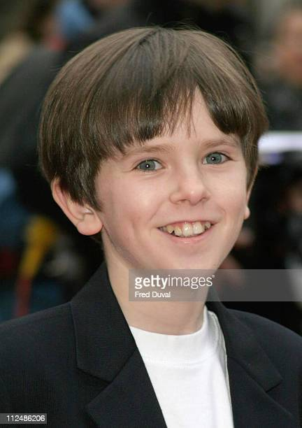 Freddie Highmore during Sony Ericsson Empire Film Awards Arrivals at Guildhall Arts Centre in London Great Britain
