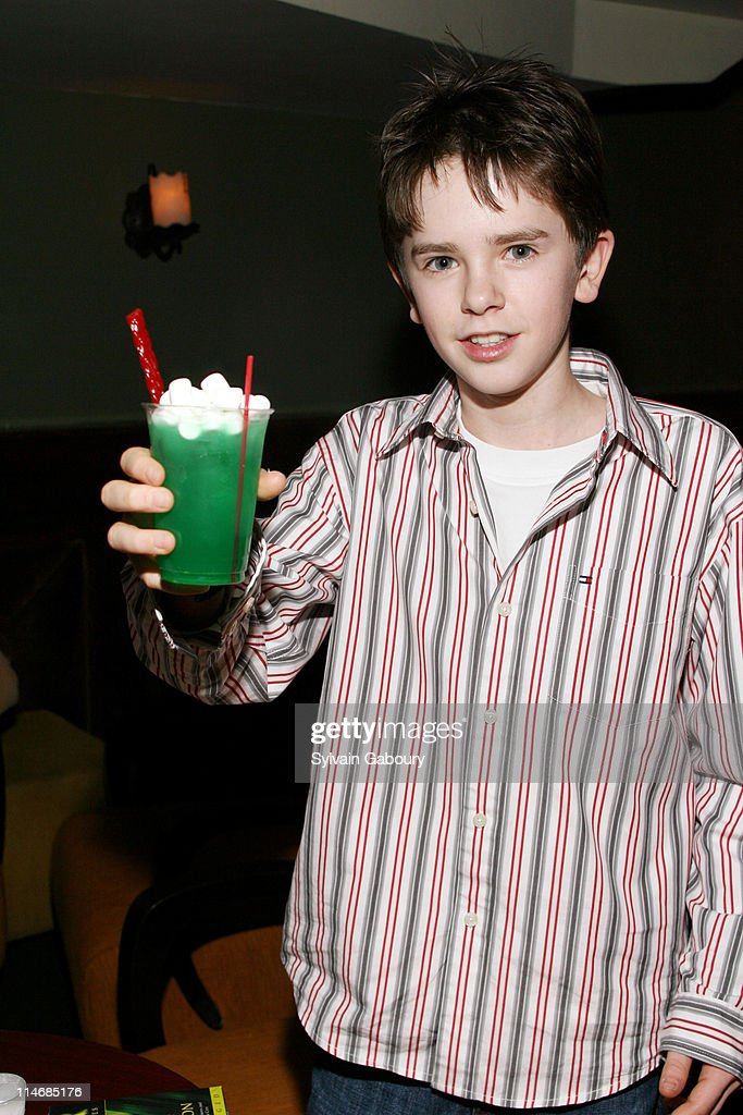 Freddie Highmore during The Weinstein Companys' 'Arthur and the Invisibles' New York Premiere After Party at Providence at 311 West 57th Street in...