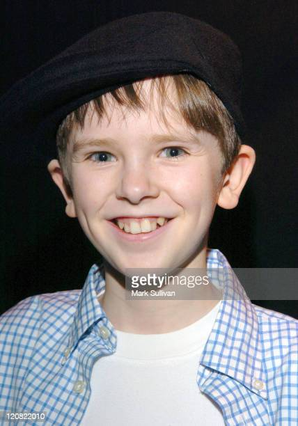 Freddie Highmore in Backstage Creations Talent Retreat