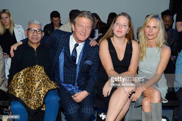 Freddie Leiba Nick Graham Clea Hermes and Valesca Guerrand Hermes attend The Blue Jacket Fashion Show to Benefit the Prostate Cancer Foundation at...