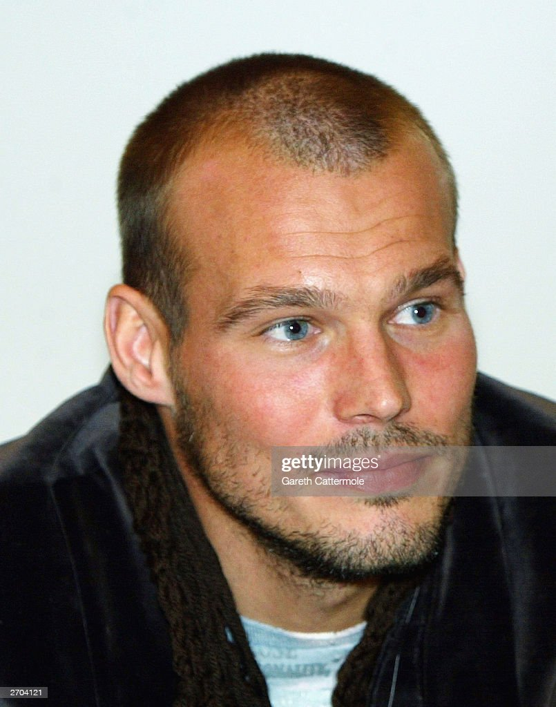 Freddie Ljungberg Appears At Selfridges To Launch New Calvin Klein Range
