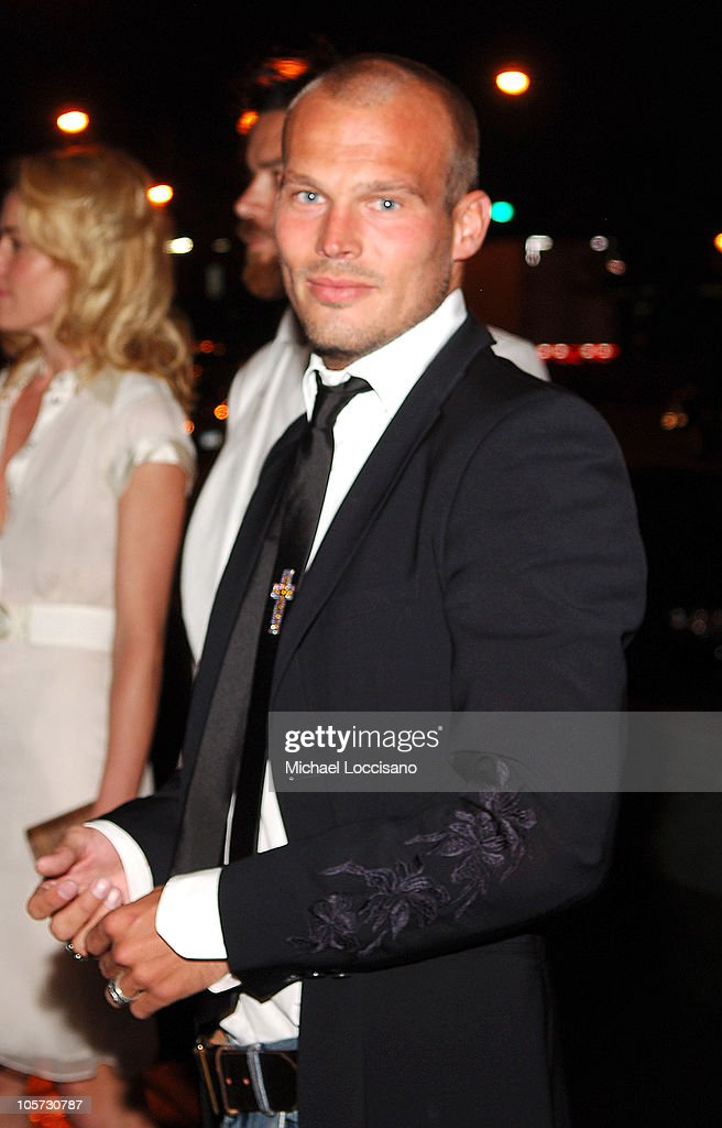 Freddie Ljungberg during Calvin Klein Underwear Wrap Up Dinner - June 16, 2005 at Perry St. in New York City, New York, United States.