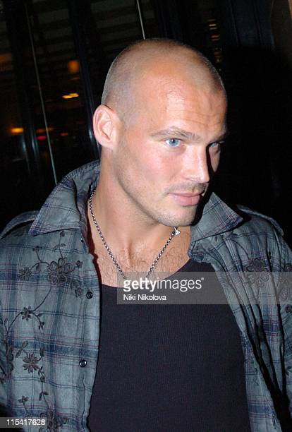 Freddie Ljungberg during Freddie Ljungberg Sighting at Cipriani's September 18 2006 at Cipriani Restaurant in London Great Britain