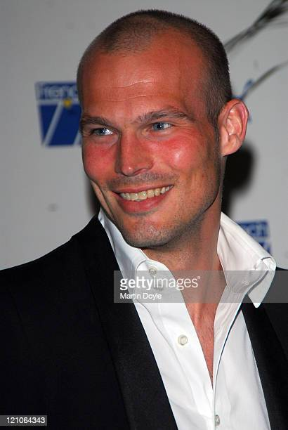 Freddie Ljungberg during Puma French 77 UK Launch Party April 19 2007 at Claridges in London Great Britain