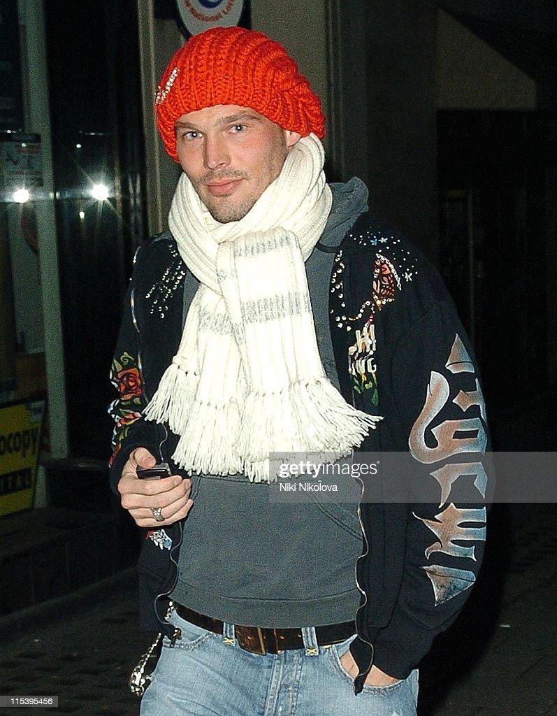 Freddie Ljungberg *Exclusive Coverage* during Freddie Ljungberg Sighting at Mayfair in London - November 19, 2005 at Mayfair in London, Great Britain.