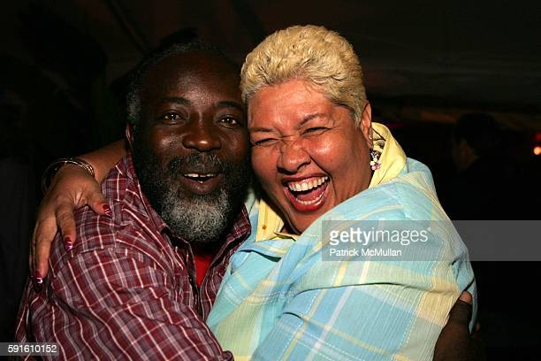 Freddie McGregor and Aloun N'dombet Assamba attend A Magical Evening with New York's Finest Chefs at 'Taste of Summer' A Benefit for the Central Park...