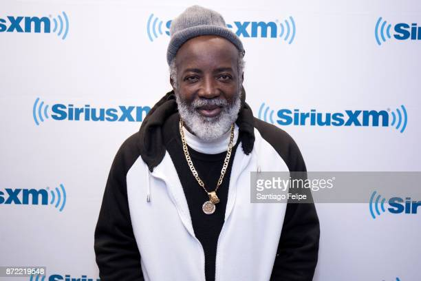 Freddie McGregor visits SiriusXM Studios on November 9 2017 in New York City