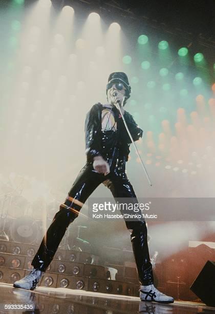 Freddie Mercury singing at Nippon Budokan Tokyo April 1979