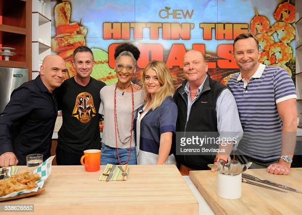 THE CHEW 6/7/16 Freddie Prinze Jr appears on THE CHEW airing MONDAY FRIDAY on the ABC Television Network KELLY
