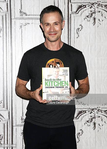 Freddie Prinze Jr attends AOL Build Speaker Series to discuss 'Back to the Kitchen' at AOL Studios In New York on June 7 2016 in New York City