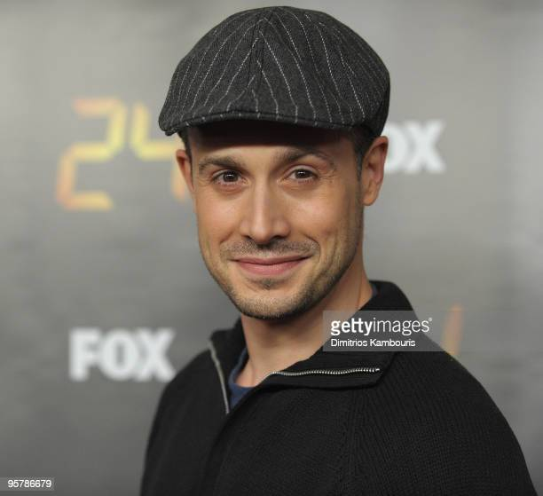 Freddie Prinze Jr attends the '24' Season 8 premiere at Jack H Skirball Center for the Performing Arts on January 14 2010 in New York New York