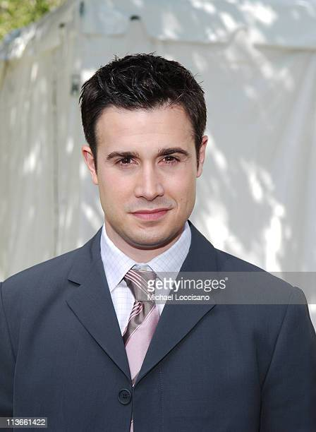 Freddie Prinze Jr during 2005/2006 ABC UpFront Arrivals at Lincoln Center in New York City New York United States