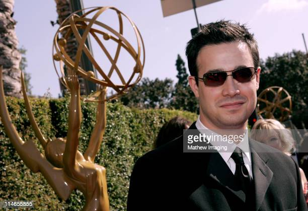 Freddie Prinze Jr during 57th Annual Primetime Creative Arts EMMY Awards Arrivals Red Carpet at Shrine Auditorium in Los Angeles California United...
