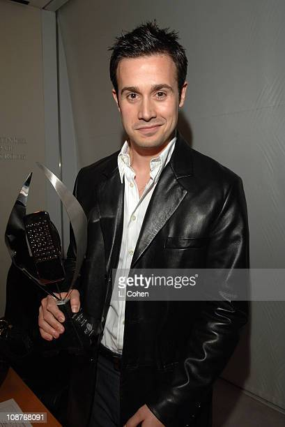 Freddie Prinze Jr during AOL In2TV Launch Inside at Museum of Television in Los Angeles California United States