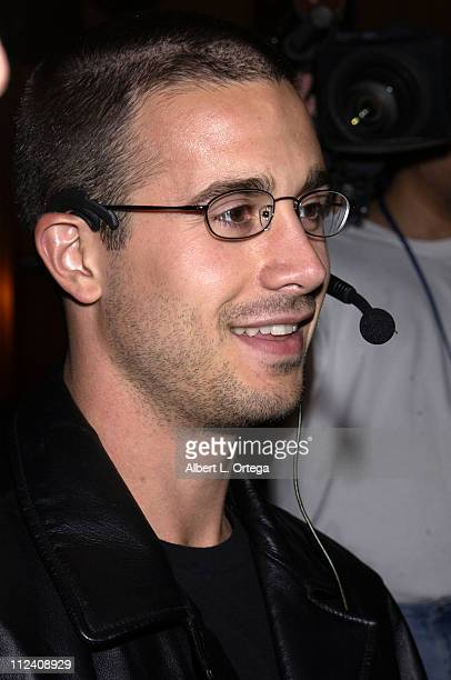 Freddie Prinze Jr during Launch Party For Xbox Live Party at Peek at The Sunset Room in Hollywood California United States