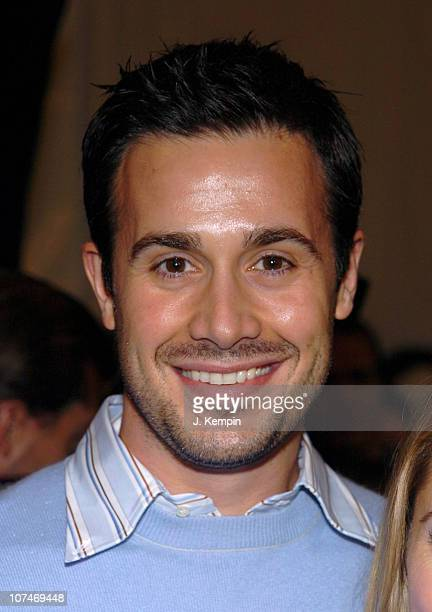 Freddie Prinze Jr during Olympus Fashion Week Fall 2006 LaCoste Front Row and Backstage at Bryant Park in New York New York United States