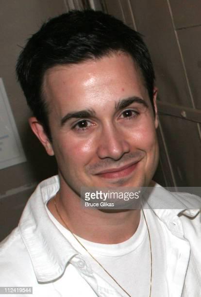 Freddie Prinze Jr **EXCLUSIVE COVERAGE** during Sarah Michelle Gellar and Freddie Prinze Jr Visit 'Dirty Rotten Scoundrels' on Broadway July 5 2005...