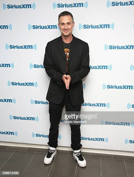 Freddie Prinze Jr visits at SiriusXM Studio on June 7 2016 in New York City