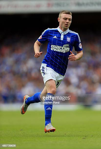 Freddie Sears of Ipswich during the Sky Bet Championship match between Ipswich Town and Brighton and Hove Albion at Portman Road stadium on August 29...