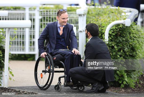 Freddy Tylicki during day one of the Dante Festival at York Racecourse PRESS ASSOCIATION Photo PRESS ASSOCIATION Photo Picture date Wednesday May 17...