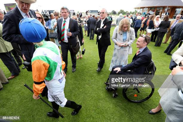 Freddy Tylicki during day two of the Dante Festival at York Racecourse