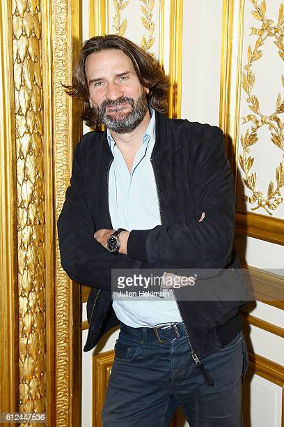 Frederic Beigbeder attends Lonchamp dinner as part of the Paris Fashion Week Womenswear Spring/Summer 2017 at Longchamp Boutique St Honore on October...