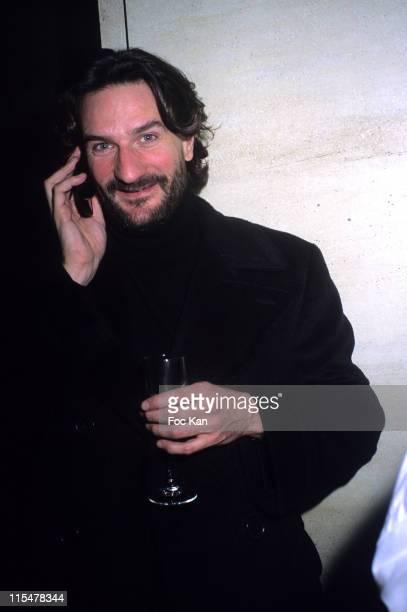 Frederic Beigbeder during 'La Mome' Paris Premiere After Party at Club de l Etoile in Paris France