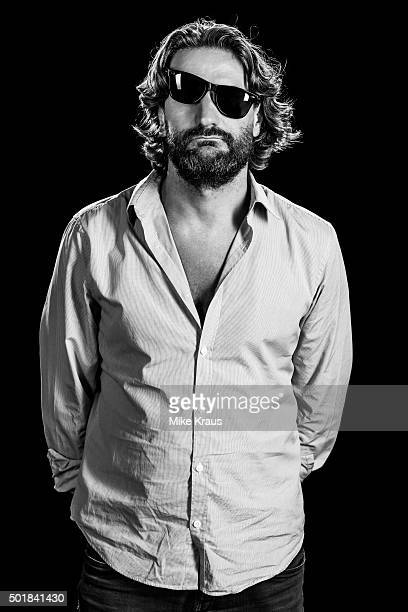 Frederic Beigbeder is photographed for Self Assignment on July 15 2012 in Munich Germany