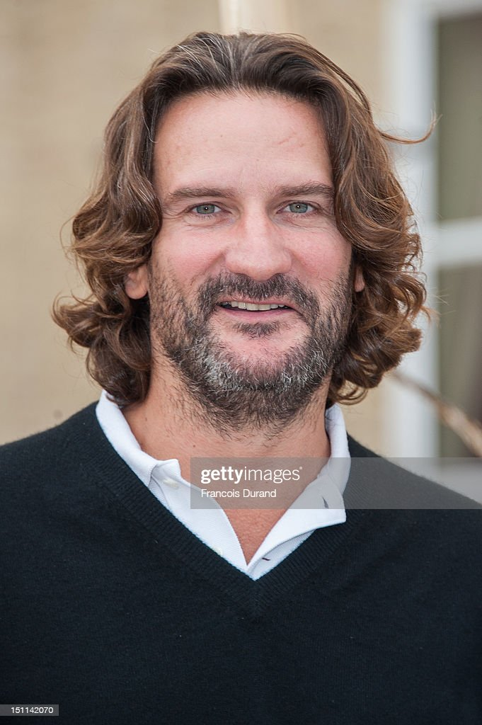 <a gi-track='captionPersonalityLinkClicked' href=/galleries/search?phrase=Frederic+Beigbeder&family=editorial&specificpeople=2164723 ng-click='$event.stopPropagation()'>Frederic Beigbeder</a> poses at a photocall in 'La Villa Cartier' during the 38th Deauville American Film Festival on September 1, 2012 in Deauville, France.