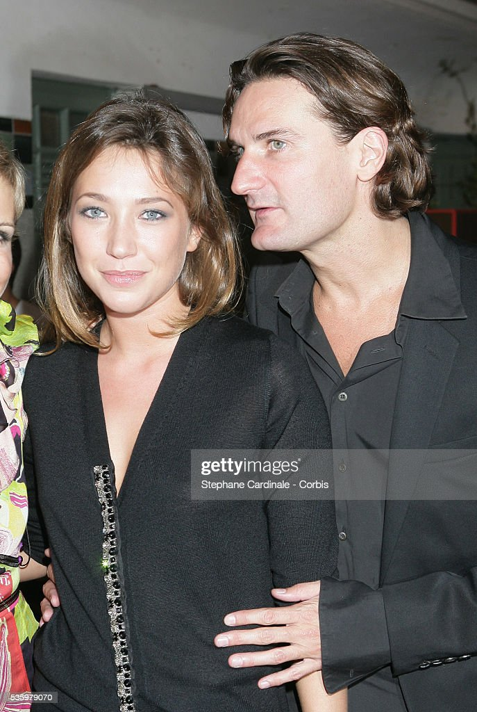Frederic Beigbeder with his girlfriend Laura Smet at the Cartier Party during the 31st American Deauville Film Festival.