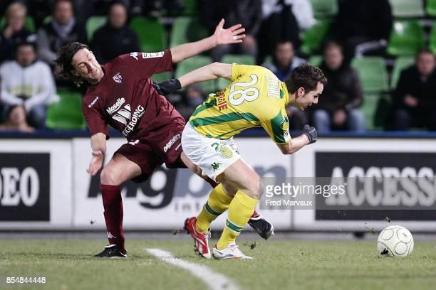 Frederic BIANCALANI / Kevin LEJEUNE Metz / Nantes 28eme journee de Ligue 2 Stade Saint Symphorien