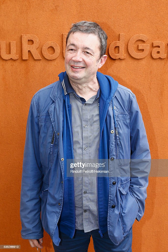 Frederic Bouraly attends the French Tennis Open Day 8 at Roland Garros on May 29, 2016 in Paris, France.
