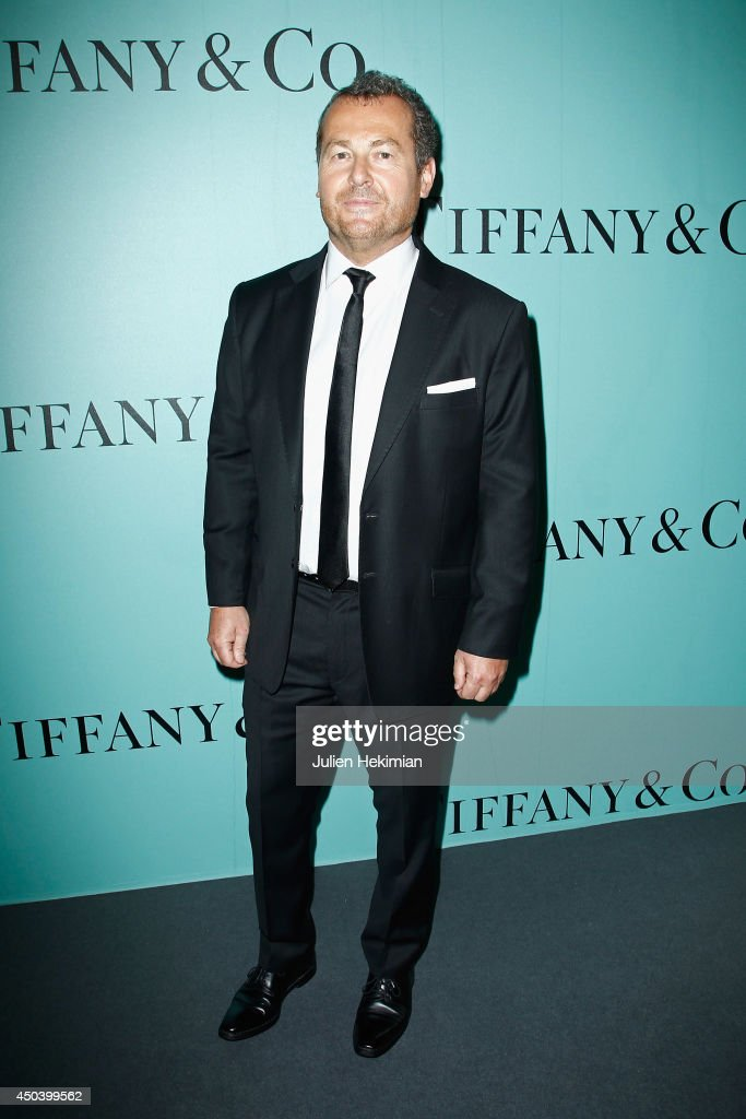 Frederic Cumenal, Executive Vice President of Tiffany & Co attends the Tiffany & Co Flagship Opening on the Champs Elysee on June 10, 2014 in Paris, France.