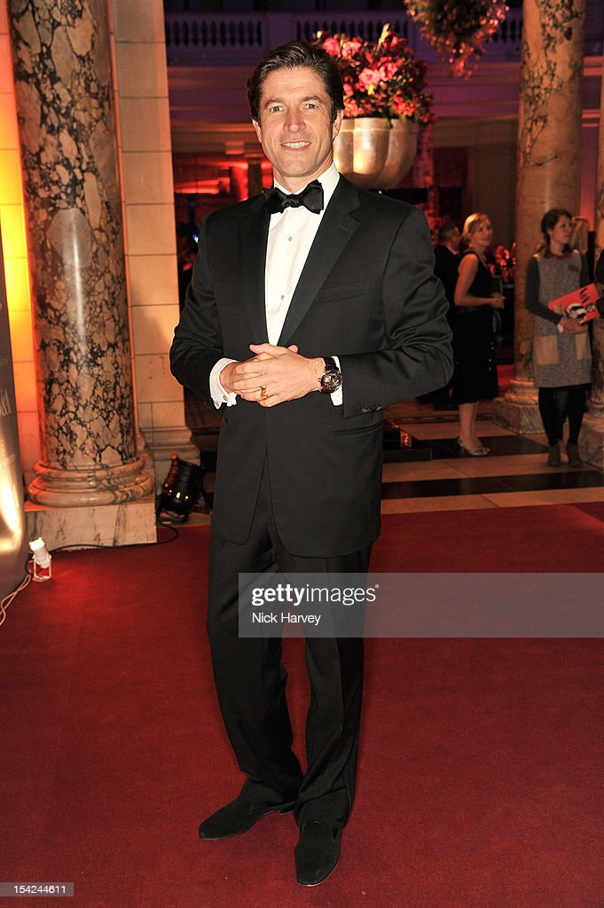 Frederic De Narp (CEO And President Harry Winston) attends the Hollywood Costume gala dinner at the Victoria & Albert Museum on October 16, 2012 in London, England.