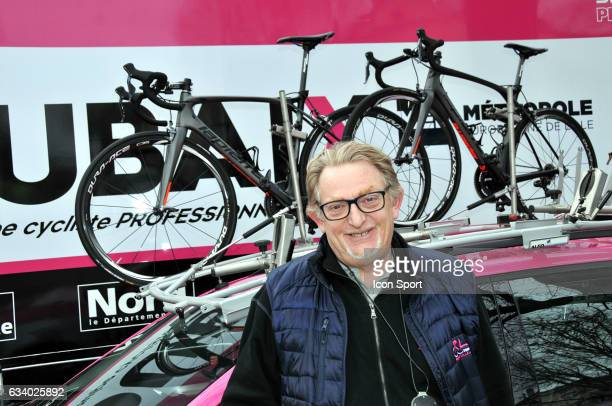 Frederic Delcambre Sports director of Roubaix Lille Metropole during the stage 5 of the Etoile of Besseges from Ales to Ales on February 5th 2017 in...