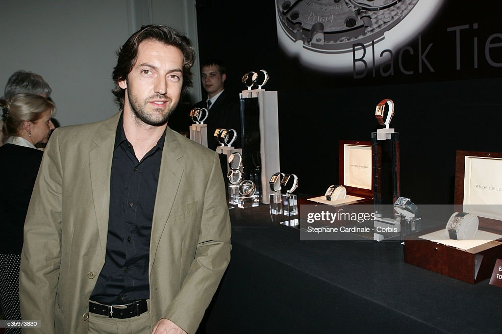 Frederic Diefenthal attends the Piaget Party: Garden of the Senses.