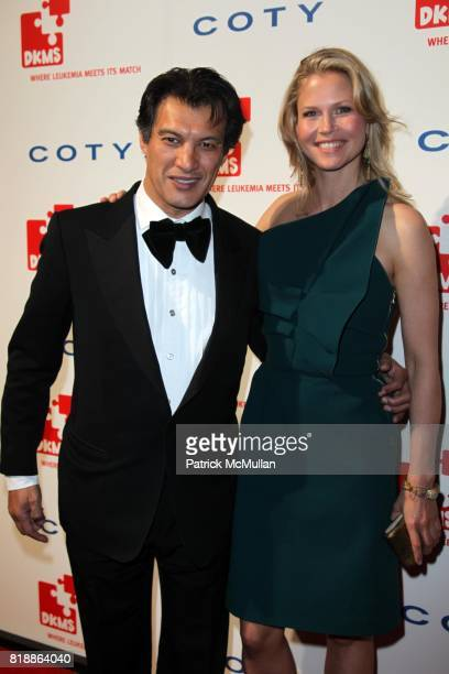 Frederic Fekkai and Shirin von Wulffen attend DKMS' 4th Annual Gala' LINKED AGAINST LEUKEMIA at Cipriani's 42nd St on April 29 2010 in New York City
