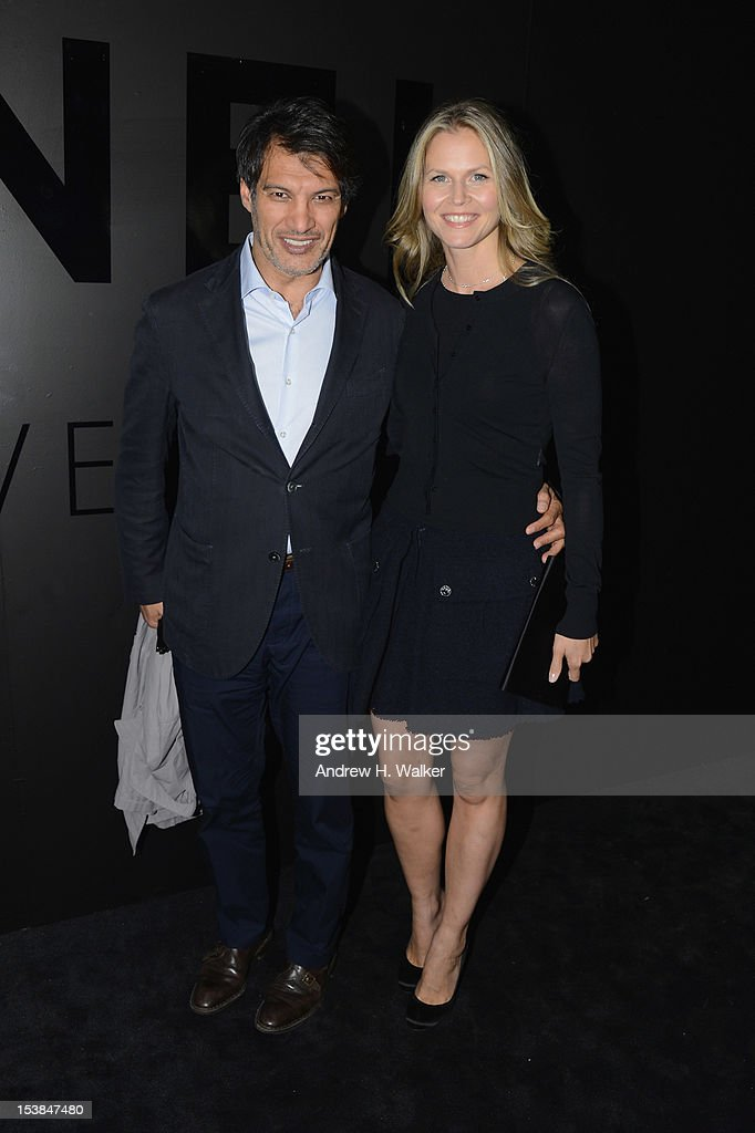 Frederic Fekkai (L) attends the celebration of CHANEL FINE JEWELRY'S 80th anniversary of the 'Bijoux De Diamants' collection created by Gabrielle Chanel on October 9, 2012 in New York City.
