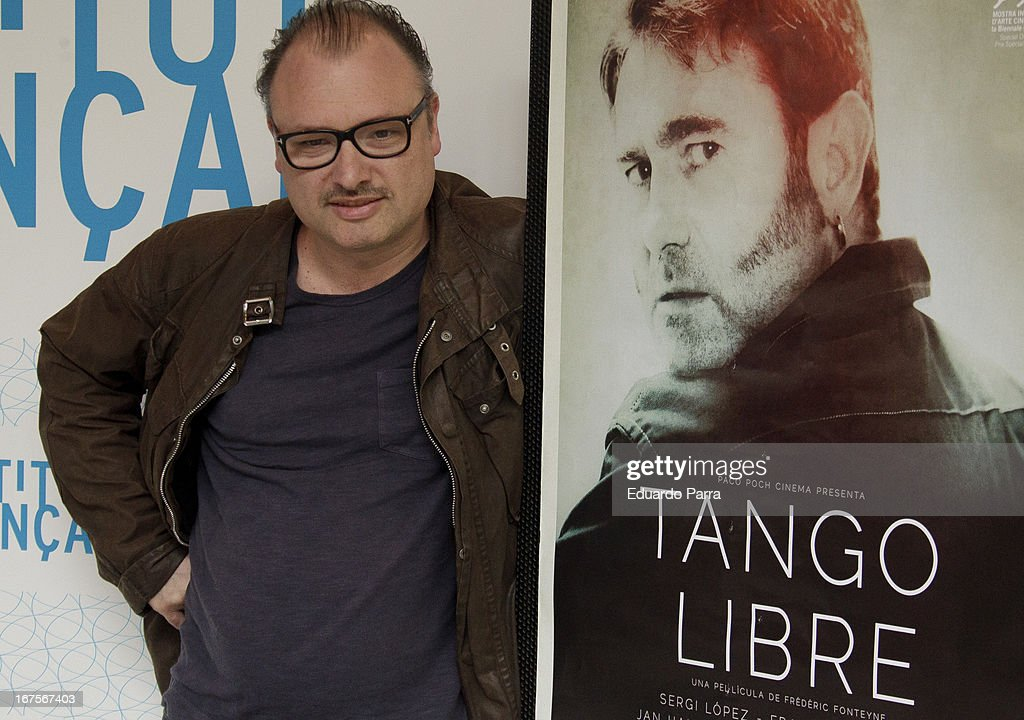 Frederic Fonteyne attends 'Tango libre' photocall at French Institute on April 26, 2013 in Madrid, Spain.