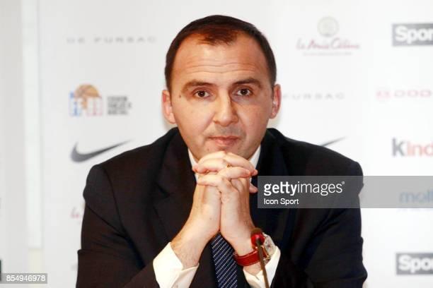 Frederic FORTE Conference de presse Nomination du nouvel entraineur de l equipe de France FFBB Paris
