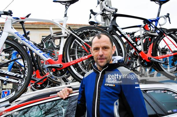 Frederic Guesdon Sports director of Fdj during the stage 1 of the Etoile of Besseges on February 1 2017 in Beaucaire France