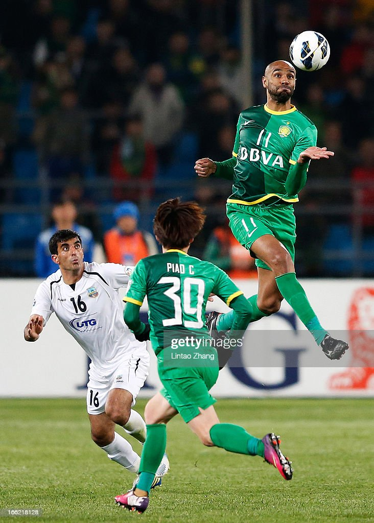 Beijing Guoan  v Bunyodkor  - AFC Champions League