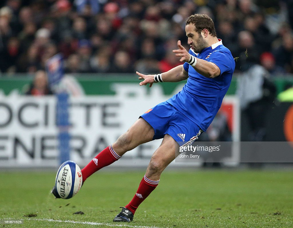 Frederic Michalak of France in action during the 6 Nations match between France and Wales at the Stade de France on February 9, 2013 in Paris, France.
