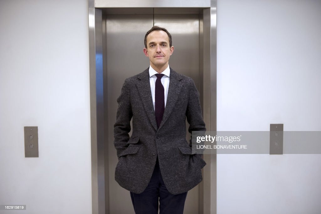 Frederic Mion, newly appointed director of the Paris Institute of Political Studies, also know as Paris' Sciences Po university, poses on March 1, 2013 in Paris.