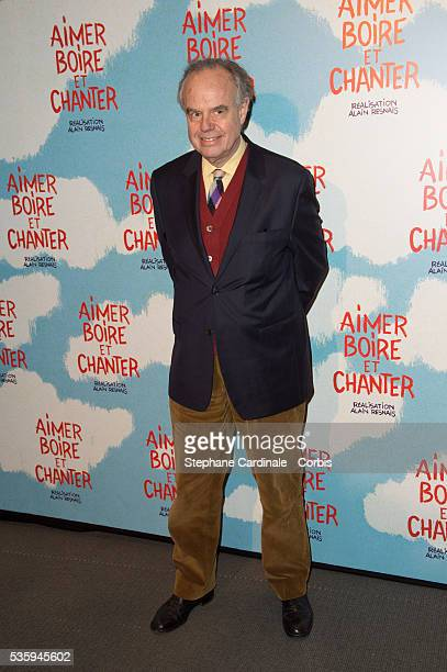 Frederic Mitterrand attends the premiere of 'Aimer Boire et Chanter' in Paris