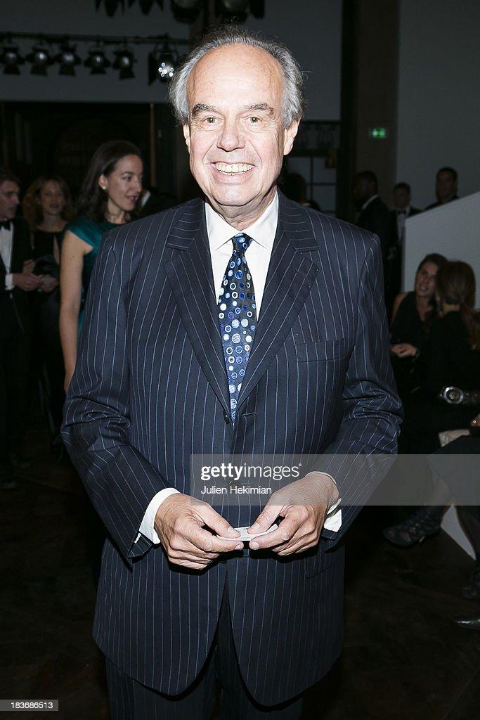 Frederic Mitterrand poses after arriving at Les Beaux-Arts de Paris on October 8, 2013 in Paris, France. On this occasion Ralph Lauren celebrates the restoration project and patron sponsorship of L'Ecole des Beaux-Arts.