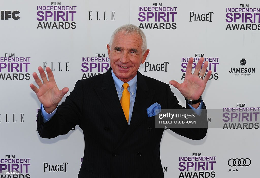 Frederic Prinz von Anhalt arrives on the red carpet on February 25, 2012 for the Independent Spirit Awards in Santa Monica, California.